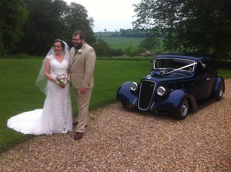 Hot Rod Car Hire Northamptonshire