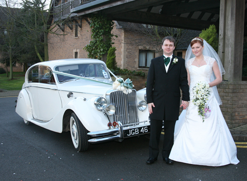 Jaguar Mk5 Wedding Car Hire Northamptonshire