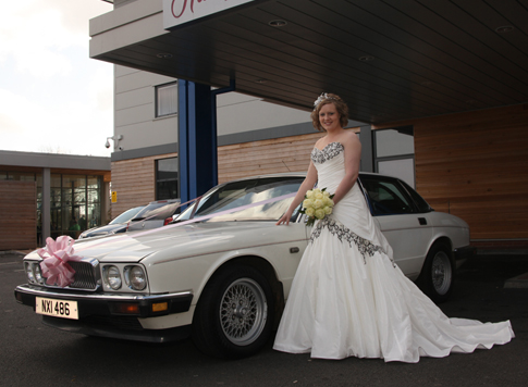 Jaguar XJ6 Wedding Car Hire Northamptonshire