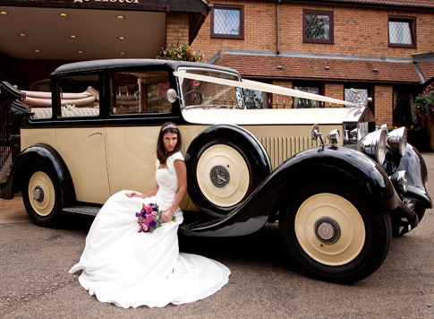 Rolls Royce Landaulette Wedding Car Hire Northamptonshire